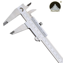 Cheapest prices FUJISAN Vernier Calipers 0-300mm Precision 0.02mm 0.001inch Stainless Steel Inch/metric Micrometer Measuring Tool