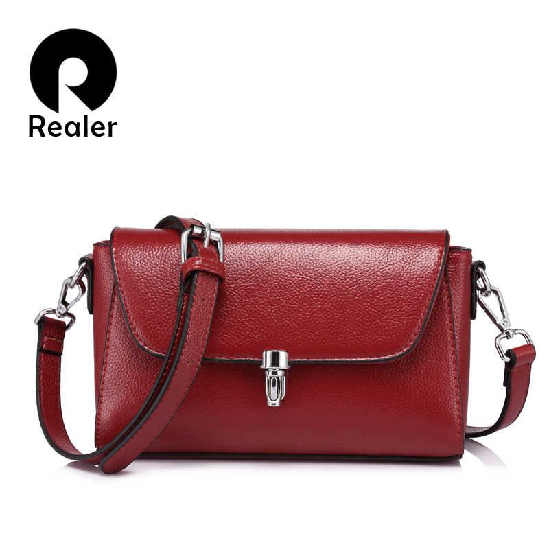 REALER marke neue mode frauen messenger taschen weibliche schulter crossbody-tasche damen große kapazität handtasche Licht Blau/Grau/schwarz