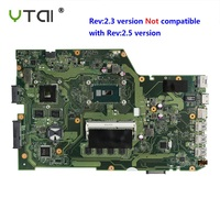 REV:2.3 I7 5500U motherboard For ASUS X751L K751L K751LN X751LK X751LD F751LD laptop DDR3 4 pieces video memory 100% test