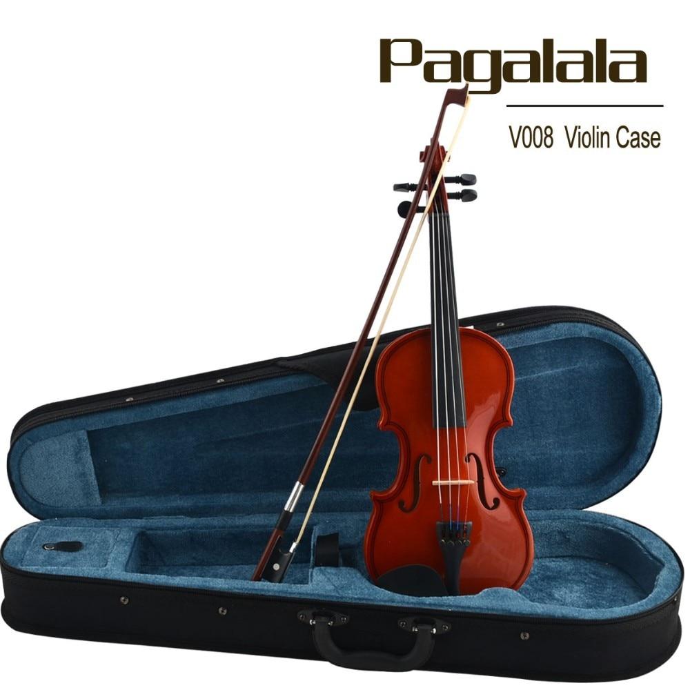 beginner violin pagalala wooden violin 3 4 white violin. Black Bedroom Furniture Sets. Home Design Ideas