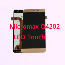 RYKKZ 5.0 Inches For Micromax Bolt Warrior 2 Q4202 LCD Display With Touch Screen Digitizer Assembly Replacement Module Gold Gray все цены