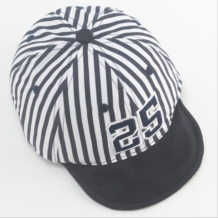 c3f67e1afea Aliexpress.com   Buy 1 Piece Cute Summer Newborn Baby Hat GirlS BoyS  Digital 25 Striped Baseball Cap Infant Cotton Unisex Toddlers Sun from  Reliable cap ...