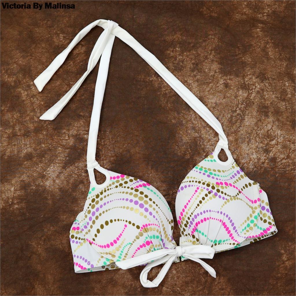 Women Underwire Bikini Top Sexy Secret Bras TOP Push Up Halter  Biquini Brazilian Bikinis UP Bathing Suit TOPS 2