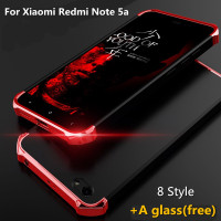Fashion 3 In 1 Case With A Free Glass For Xiaomi Redmi Note 5A Case Hard