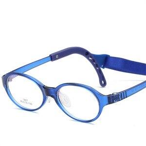 Image 2 - משקפיים לילדים ילד ילדה משקפיים אופטי משקפיים Eyewear מסגרת ילדי מרשם משקפיים מסגרת סיליקון האף טיפול 807