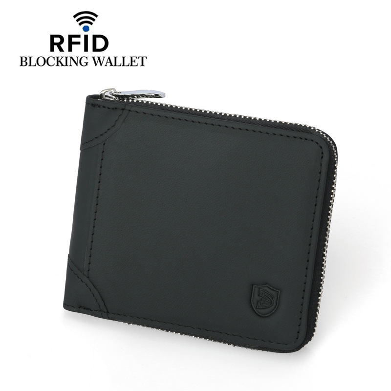 Cow Leather Men Wallets with Coin Pocket Vintage Male Purse Function Brown Genuine Leather Men Wallet with Card Holders in Wallets from Luggage Bags