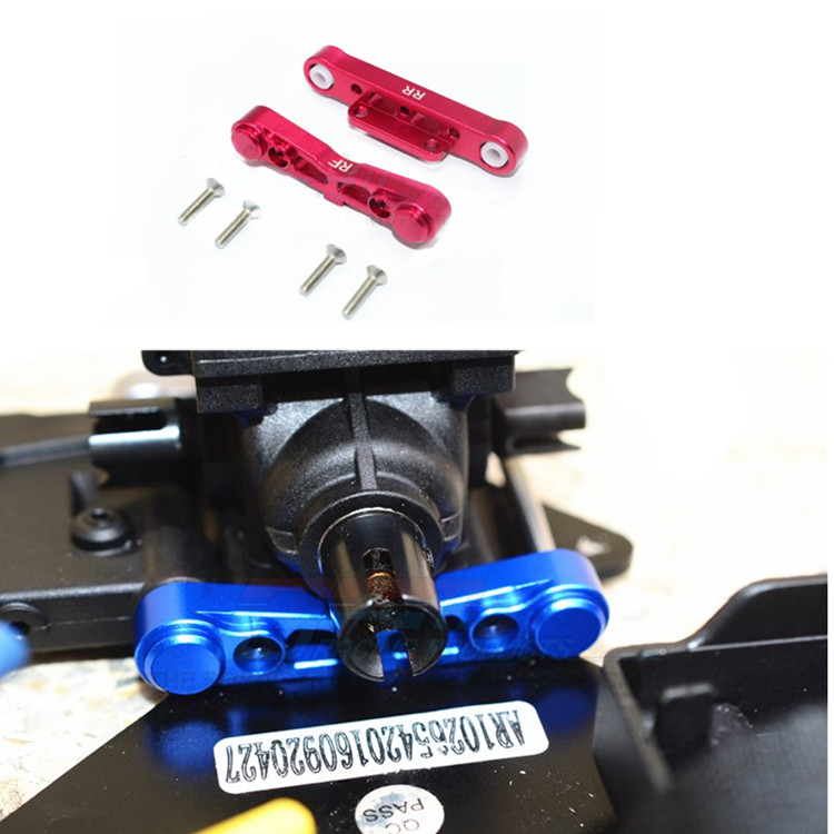 RC Car Parts Alloy Rear Lower Suspension Mount 1/8 ARRMA TALION KRATON TYPHON SENTON