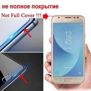 Image 3 - Закаленное стекло для Samsung Galaxy J3 J5 J7 A3 A5 A7 2015 2016 2017 2018 защита экрана Защитная пленка