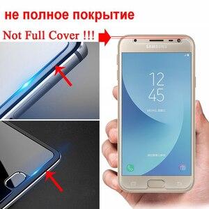 Image 3 - Vetro temperato Per Per Samsung Galaxy J3 J5 J7 A3 A5 A7 2015 2016 2017 2018 Schermo di Protezione Glas protector Pellicola Protettiva
