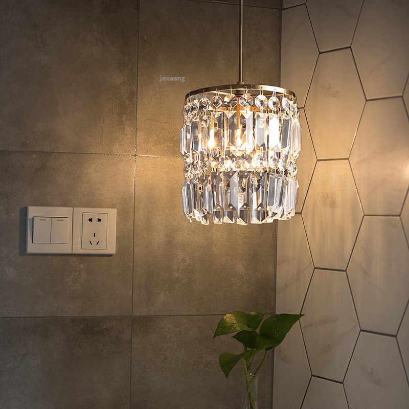 Современные подвесные потолочные лампы, Хрустальный светодиодный подвесной светильник для гостиной, кухни, светильник s, люстра, светильник, Декор, подвесной светильник