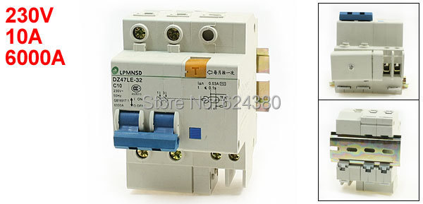 Mcb Miniature Circuit Breaker 6 Amp Double Pole You Can Caravan