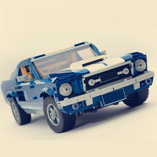 Technic Classic 1967 Mustang GT Car Building Blocks Kit Bricks Sets Model Toys Compatible