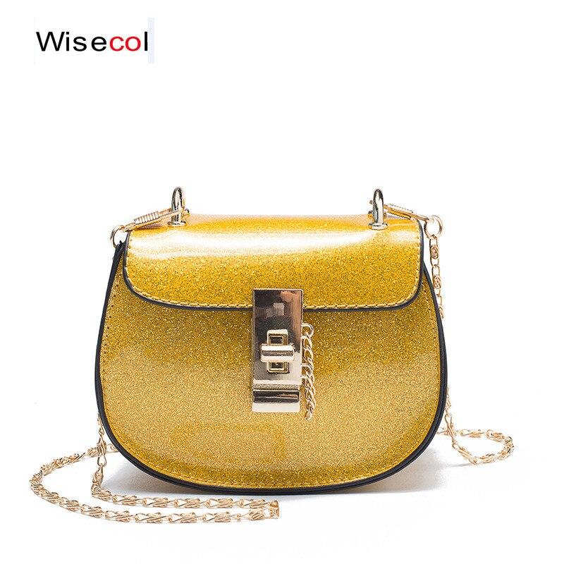 Wisecol Mode Schulter Tasche Kinder Umhängetasche Mädchen Prinzessin Messenger Handtasche Nette Mappe Schrumpffrei Crossbody-taschen