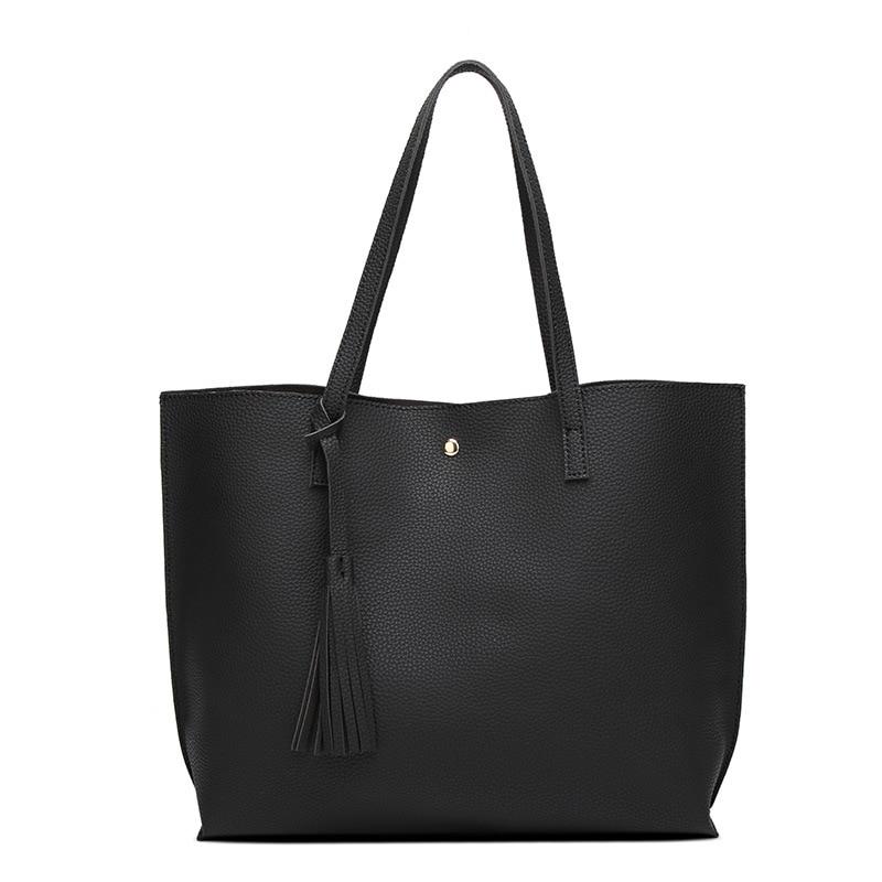 2017 New Large Tote Women Handbags Soft Leather Women Shoulder Bag Large Capacity Bolsa Feminine TopHandle Bags Purse