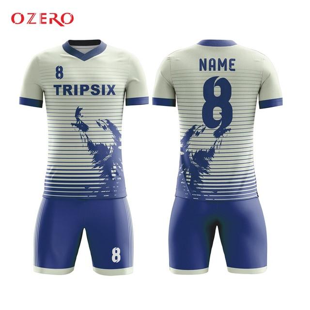 Personalizada camisetas de fútbol diseño uniformes de fútbol tinte  sublimados seca fit camiseta ... 1c7ddde145ba7