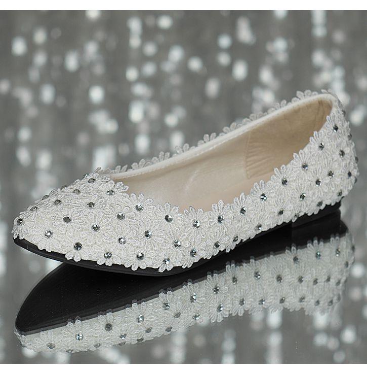 5cm Femelle Chaussures Heel Heel Flat 3cm Lady 4 Heel La De Size Main Dentelle À Plat Talon Heel Point Proms Party Mariage Robe Appartements 11cm Dame 8 Heel Femmes Plus Pleine E4xfwFfzq