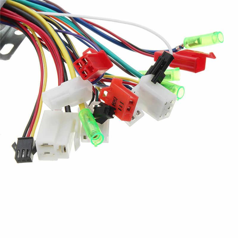 24 فولت 250 واط فرش موتور سرعة المراقب صندوق ل e-الدراجة سكوتر الكهربائية الساخنة بيع