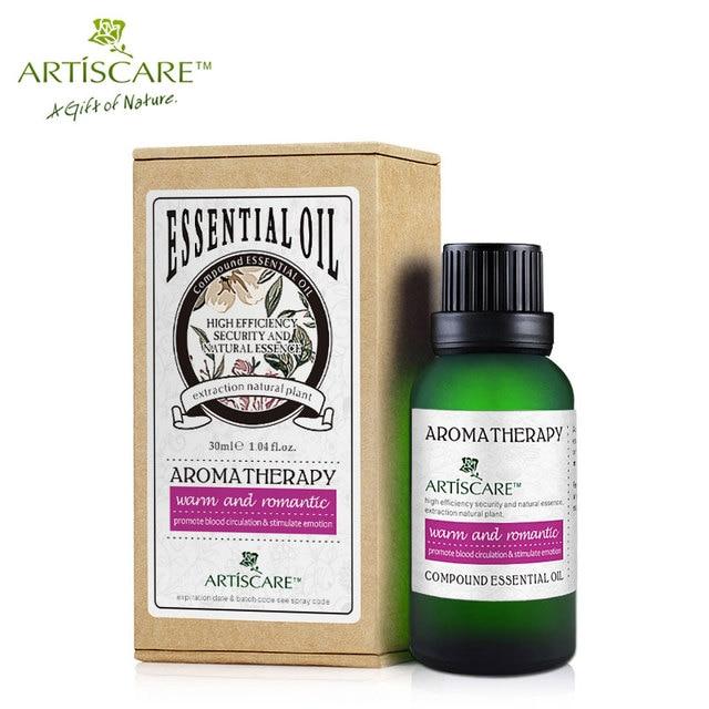 essential oils that warm the skin