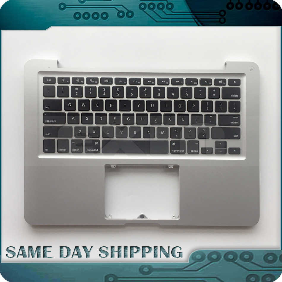 "100% authentique nouveau pour Macbook Pro 13 ""A1278 US Topcase Palm Rest w/US clavier + rétro-éclairage + indicateur de batterie 2011 2012 an"