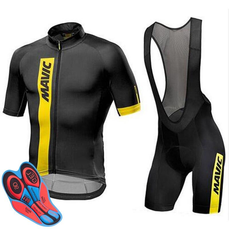 2019 mavic odzież rowerowa MTB odzież rowerowa Ropa Ciclismo Bike jednolita koszula rowerowa wyścigi kolarstwo strój z dżerseju