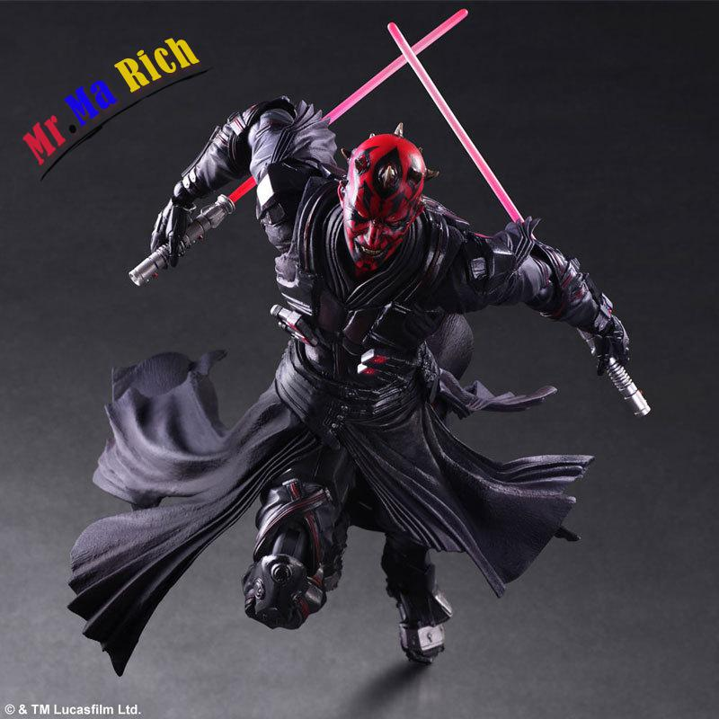 Playarts Kai Darth Maul Star Wars: The Force Awakens Pa Kai Figure Collectible Model Toy With Box huong movie figure 26 cm playarts kai star wars darth maul pvc action figure collectible model toy