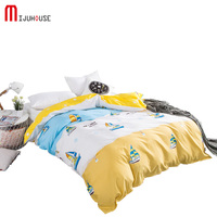 1 Pcs Cotton Duvet Cover Quilt Cover Twin Full Queen King Home Textile Bedclothes Comforter Cover Bedding Bed Sack with Flowers