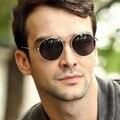 2017 Última Moda Retro Vintage gafas de Sol de Los Hombres/mujeres Espejo Gafas Oculos Recubrimiento Diseñador de la Marca de Lujo Gafas de Sol UV400