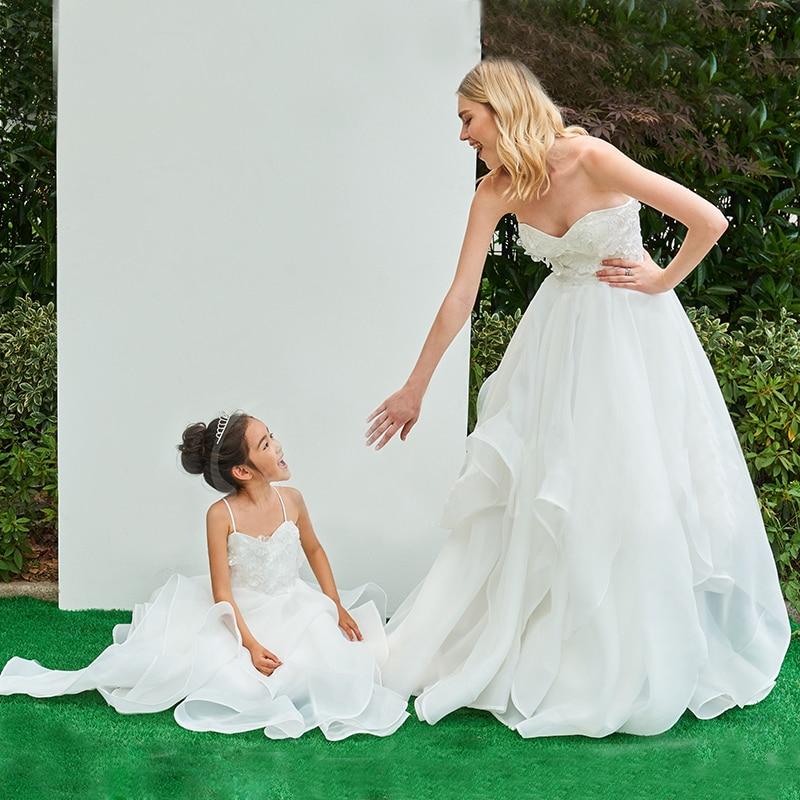 Платье для мамы и дочки; одинаковые вечерние платья для мамы и дочки; семейный образ; торжественное платье для свадьбы; Вечерние наряды