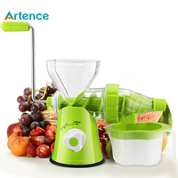 100 Fruit Nutrition Reserved Masticating Juicer Fruit Vegetable Tools Plastic Manual Fruit Squeezer Easy Clean