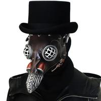 New Halloween Costume Steam Punk Plague Doctor's Mask Halloween Dance Party Mask Cosplay Mask