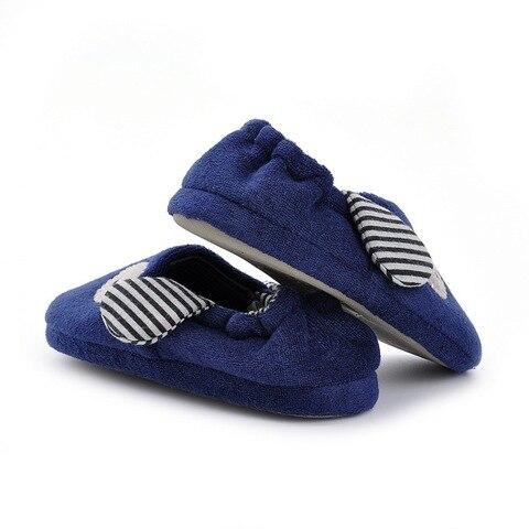 marinha azul anti slip chinelos marca de luxo