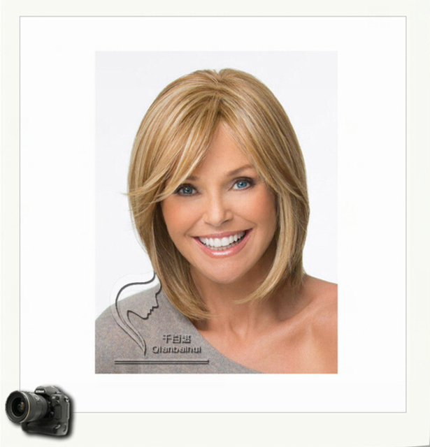 New Style Fashion Ladies Cut Hairstyle Synthetic Wigs Short Hair