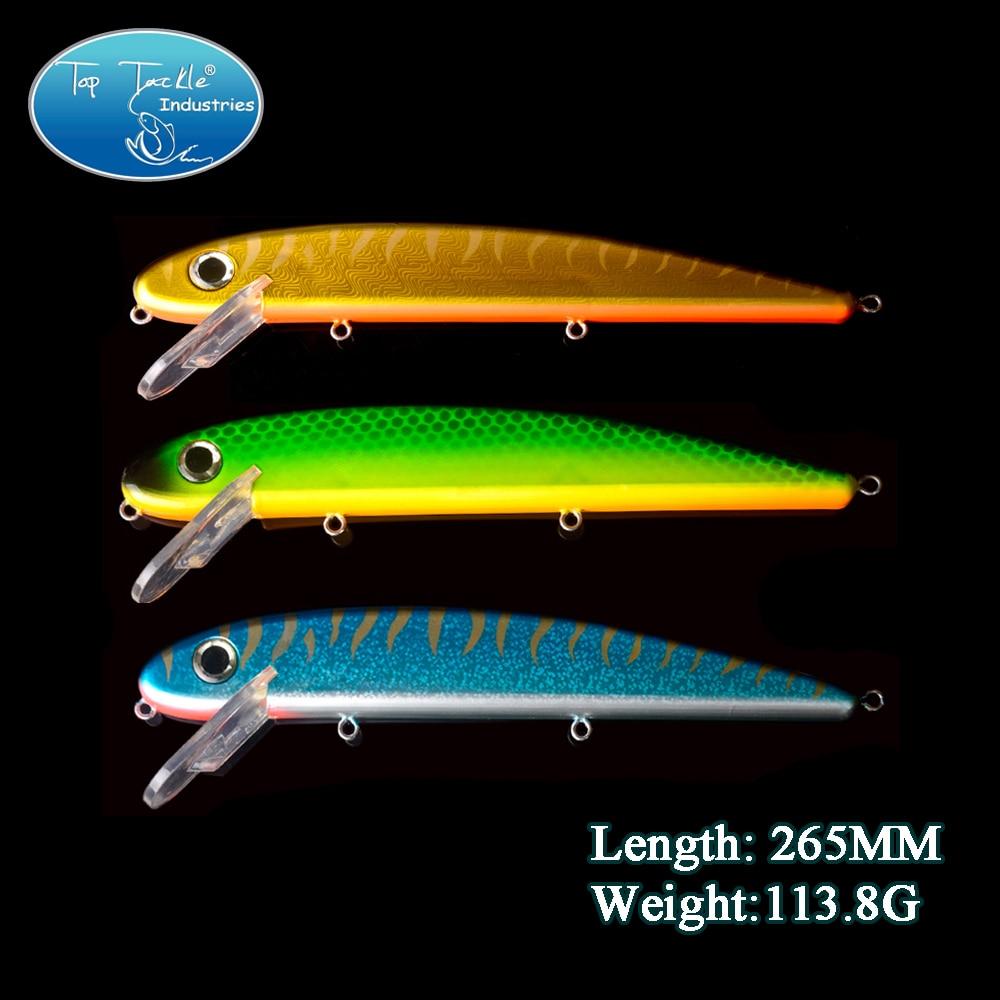 Free Shipping  Super Jake(260mm 128g) Minnow fishing lure China Hooks