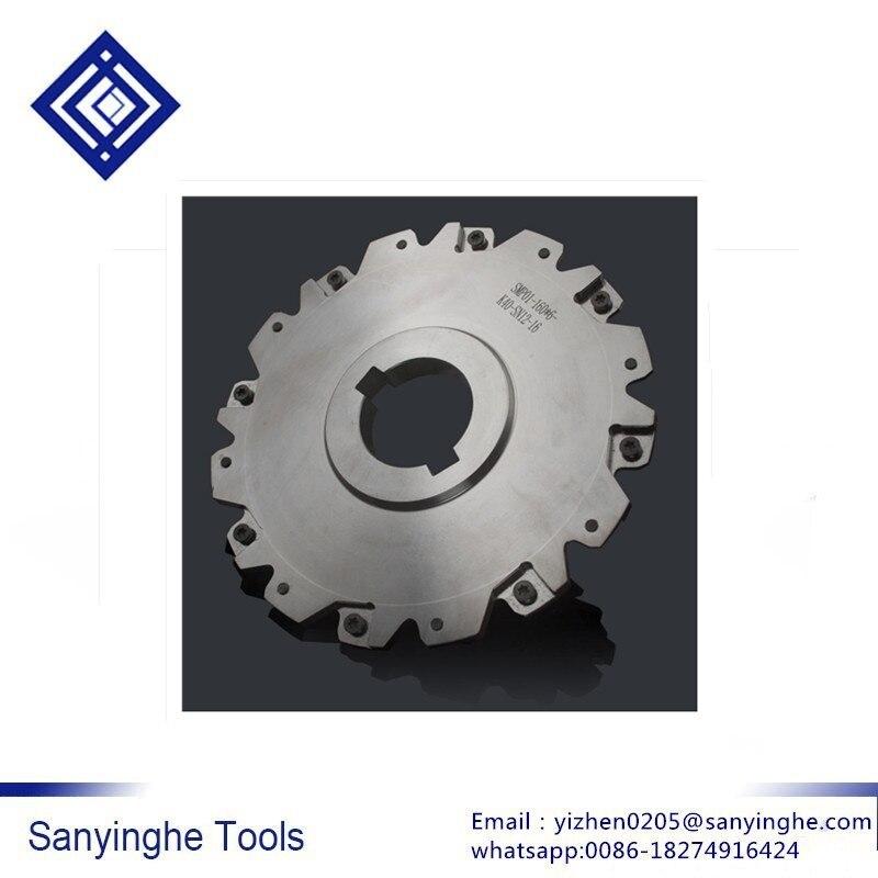 Sanyinghe держатель инструмента SMP01 160 * 6 K40 SN12 16 держатель для сверла и боковое фрезерование головки