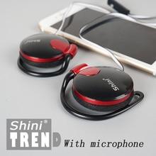 Наушники ShiniQ140, фабричная цена, опт, 3,5 мм, наушники с креплением на ушах, наушники для мобильного телефона, наушники для iPhone, xiaomi