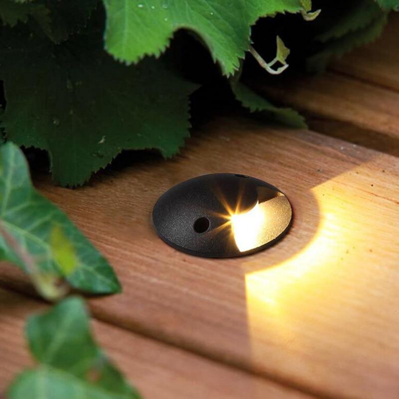 ip67 3 w led footlights lampada de canto luzes led ao ar livre 220 v 110