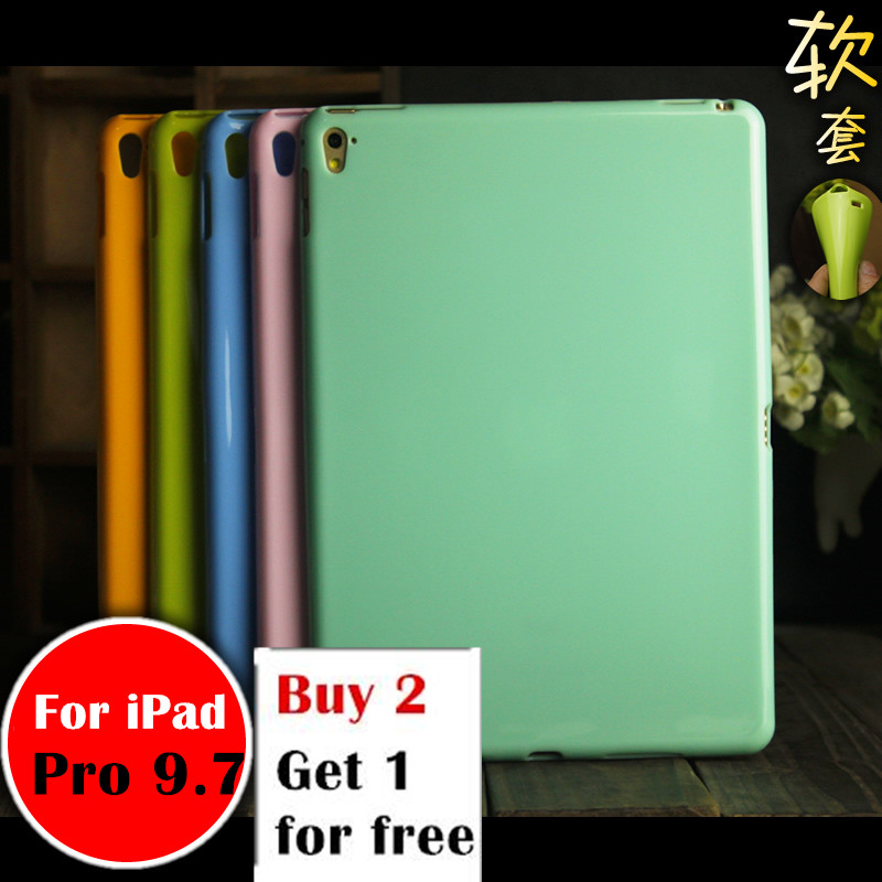 Pro 9.7 Pudding case For Apple iPad Pro 9.7  A1673 tablet case Soft Silicone TPU Back Cover Case Protetcive shell nice soft silicone back magnetic smart pu leather case for apple 2017 ipad air 1 cover new slim thin flip tpu protective case