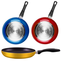 26cm Saucepan Skillet Non Stick For Cooking Pot Copper Cast Iron Frying Pan With Ceramic Coating