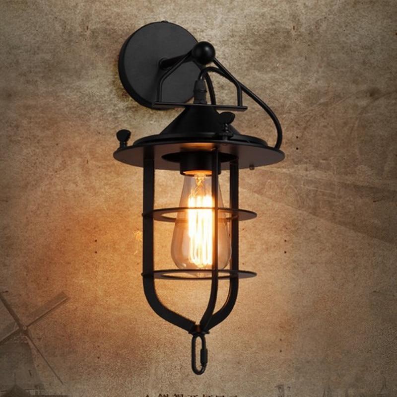 Creative Dock Style պատի լույս Nordic Retro - Ներքին լուսավորություն - Լուսանկար 3