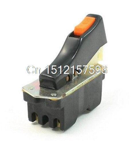 Corte Máquina off Bloqueio Gatilho Botão Interruptor AC 250 V 10A FB7-10/2W1