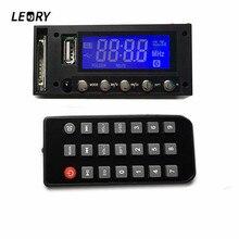 LEORY Bluetooth Decoder Board Module MP3/WAV With Remote control 7-16V DC/AC Stereo Audio Amplifier Board