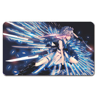 Touhou Sword Master Girl Playmat 525 Custom Anime Board Games Sexy Play Mat Card Games