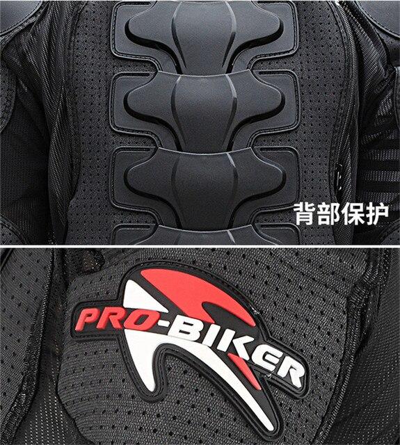 Veste de protection pour femme PRO-BIKER veste de protection pour Moto scooter ou motocross 5