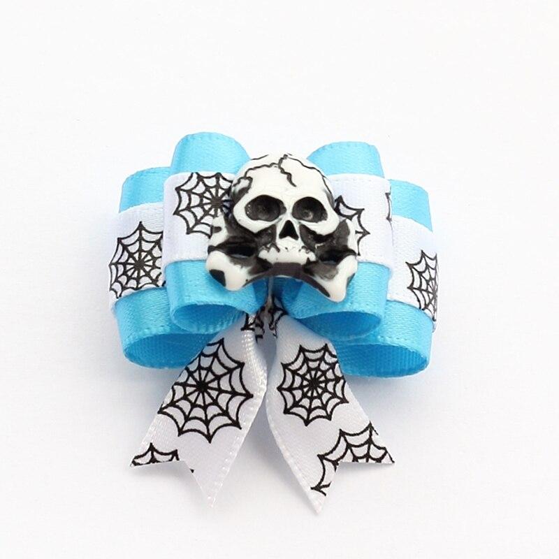 armi store handmade accessories skull ribbon dog b - Halloween Supply Store