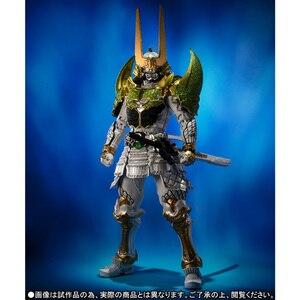 "Image 2 - BANDAI Tamashii Nazioni SIC SUPER FANTASIOSO CHOGOKIN Esclusivo Action Figure Kamen Rider Zangetsu Melone Braccia da ""Gaim"""