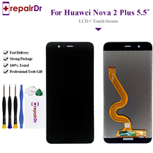 100% Tested For Huawei Nova 2 Plus LCD Display Touch Screen Digitizer Assembly BAC-AL00 5.5'' For Huawei Nova 2 Plus LCD Screen