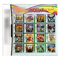 Video Game DS 3DS Cartridge Card Game Console 273 In 1 MULTI CART