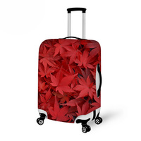 Noisydesigns Pattern Leaf Design Waterproof Elasticity Cover For Luggage Suitcase Zipper Color Trolley Luggage Protective covers