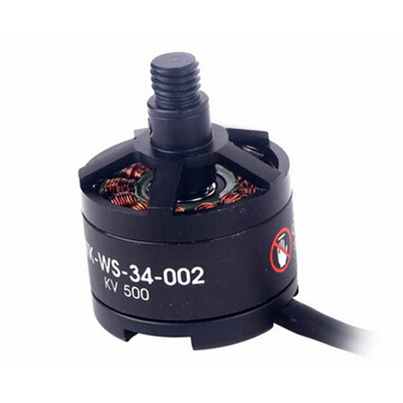 Original Walkera Scout X4 FPV RC Quadcopter Drone Helicopter Part Brushless Motor Levogyrate Thread (WK-WS-34-002) Scout X4-Z-11 walkera spare part scout x4 z 12 brushless motor dextrogyrate thread wk ws 34 002 scout x4 parts freetrack shipping