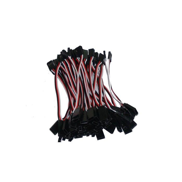 Бесплатная доставка 1000 шт./лот 100 мм 10 см RC сервоприводы расширение провода прямой кабель для JR FUTABA разъем подключения Servo кабели проводки